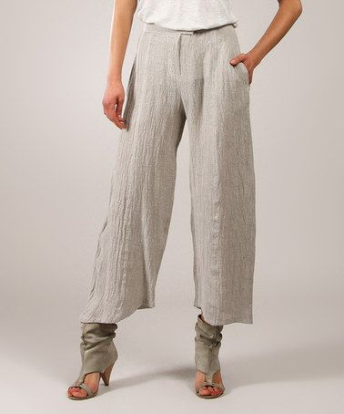 Sand Crepe Linen Gaucho Pants | Gaucho Pants, Gaucho and Crepes