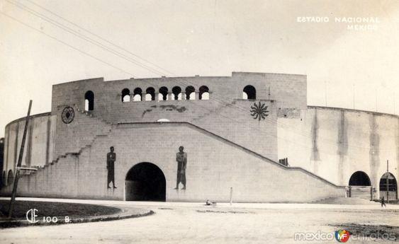 Estadio Nacional, ubicado en las calles de Jalapa, Orizaba y Yucatán en la colonia Roma de la Ciudad de México.