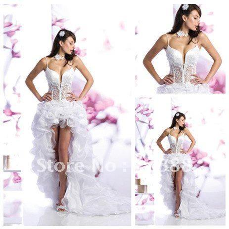 Vestido de noiva sexy.