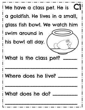 50++ Leveled reading comprehension worksheets Images