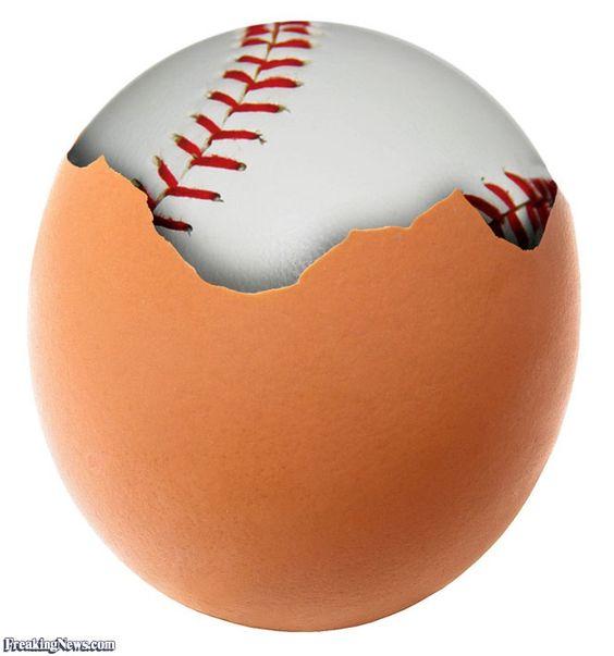 egg baseballs | egg