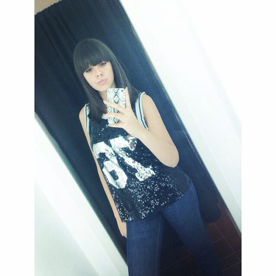 #me #fashion #paillettes #casual #look #love #shopping #freshness #muelali ✌️
