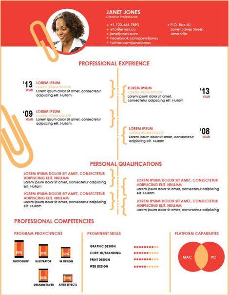 creative resume template   x   jpg    �       infographic    resume templates job  resume templates free download  templates job tips  resume ideas  design templates  resumes   marketing resumes