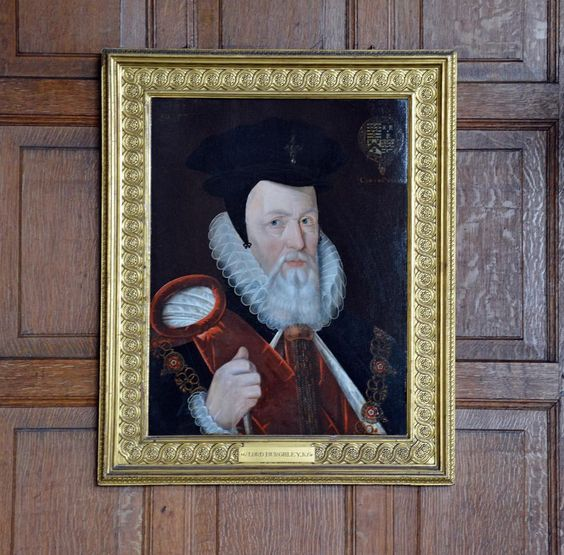 @hakan_grothA portrait of William Cecil, 1st Baron Burghley (1520-98), chief advisor of Elizabeth I. His younger son Robert Cecil, 1st Earl of Salisbury, became the owner of Hatfield: