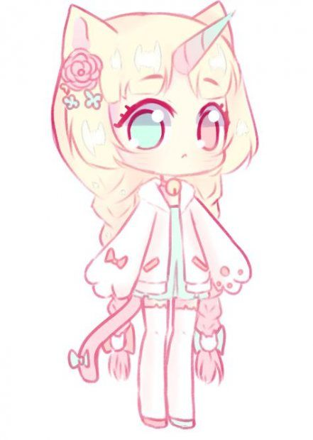 59 New Ideas For Drawing Ideas Cute Unicorn Chibi Anime Kawaii Chibi Girl Drawings Cute Anime Chibi