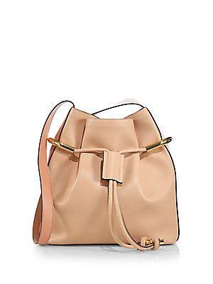 Chlo�� Emma Small Two-Tone Drawstring Hobo Bag | Inner Fashionista ...