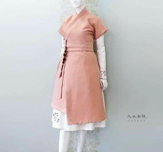 Model Baju Batik Hanbok