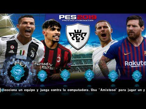 Pes 2019 Ppsspp Iso Android Pes 19 Game Offline English Version Olahraga Aplikasi Mainan