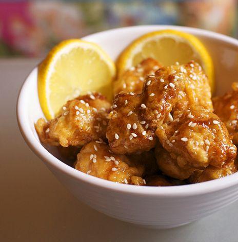 Chinese Lemon Chicken | Recipes | Appetite for China: Food Chicken, Recipes Chicken, Asian Food, Asian Lemon Chicken, Lemon Chicken Recipes, Chinese Recipes, Chinese Lemon Chicken, Chinese Food, Recipes Asian
