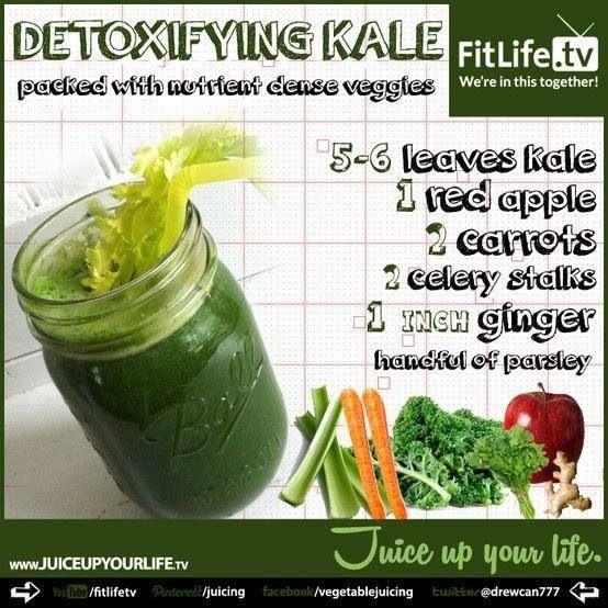 Kale detoxity with kale