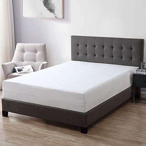 Exq Home 100 Bed Bug Proof Mattress Cover Queen Size Waterproof Mattress Protector Hypoallergenic 6 Sided Zippe In 2020 Mattress Encasement Luxury Mattresses Mattress