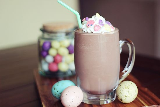 Malted Milk Chocolate Protein Shake
