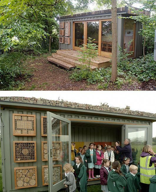 Green Roofs And Great Savings Green Roof Container House Container Buildings