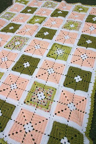Ravelry: Sarafia blanket pattern by Elín Guðrúnardóttir: