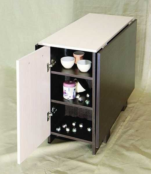 Folding Tables, Small Rooms And Storage Units On Pinterest