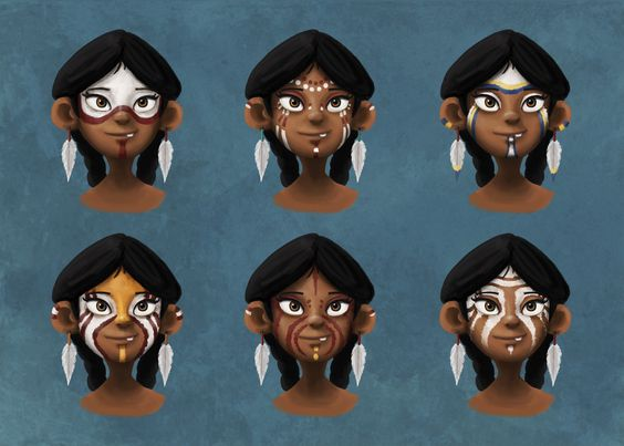 """""""The Shaman Novice"""" Character Design Project"""