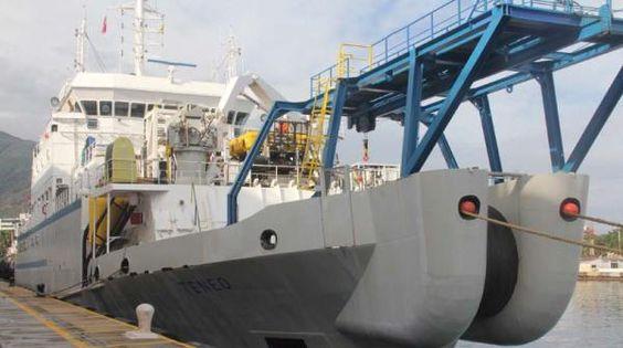 Buque TENEO arribó al Puerto de La Guaira con 89 toneladas métricas de fibra óptica