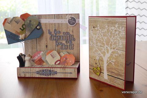 Hochzeit-Karte-Hochzeitskarte-Geldgeschenk-Geld-Geschenk-passend-Reise-Weltreise-Geld-Herzen-falten-blau-Holz-weinrot-Hochzeitsgeschenk-überreichen