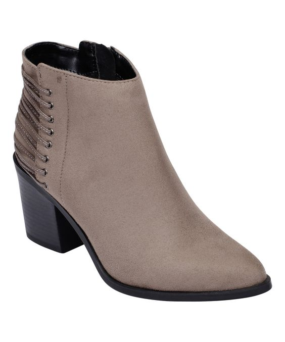 This SODA Taupe Led Bootie by SODA is perfect! #zulilyfinds