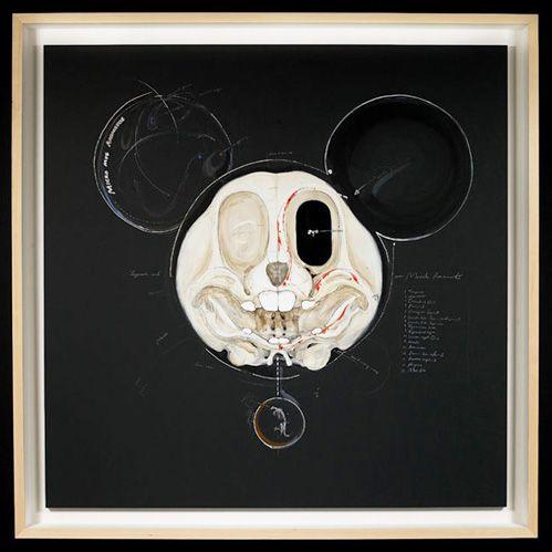 Mickey x-ray