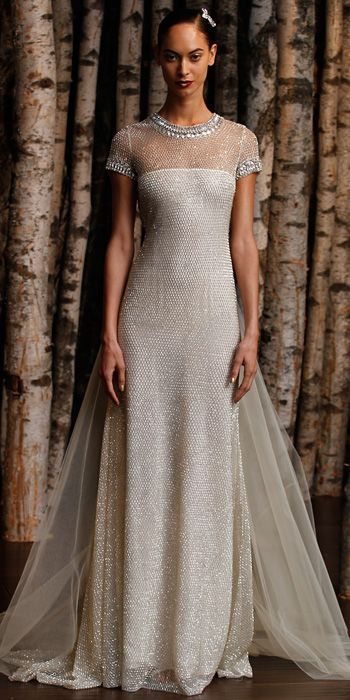 Naeem khan spring 2015 bridal collection spring dress for Naeem khan wedding dress