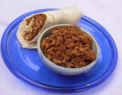 Homemade Soyrizo