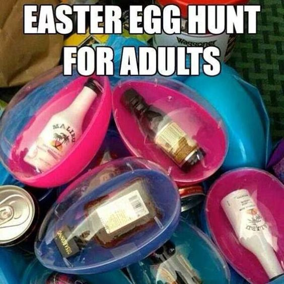Hey easter eggs for adults snarly and sarcastic just for What to put in easter eggs for adults