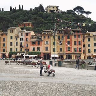 Loving all the colorful houses here #Portofino #GWSinItaly #GWSinEurope #GWStravel