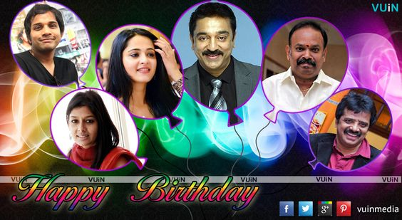 Birthday Special with Ulaganayagan and 5 other celebs!