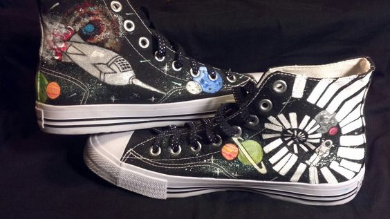 There is an amazing artist Traci Loving. These shoes are her latest shoes. I small part of what she creates. http://www.facebook.com/pages/Imagine-Loving-Art