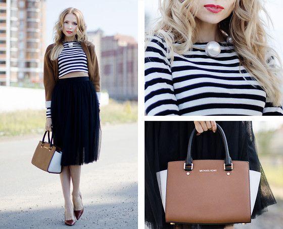 Tini Tani - Michael Kors Bag, Necklace, Zara Heels - The perfect bag: