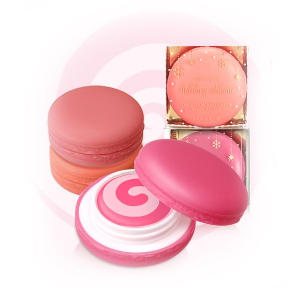 Macaron Tinted Lip and Cheek - Peach Gelato - It's Skin