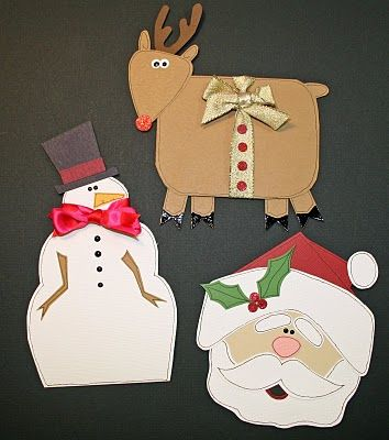 Gift card holders christmas cards and craft ideas for Christmas card holder craft project