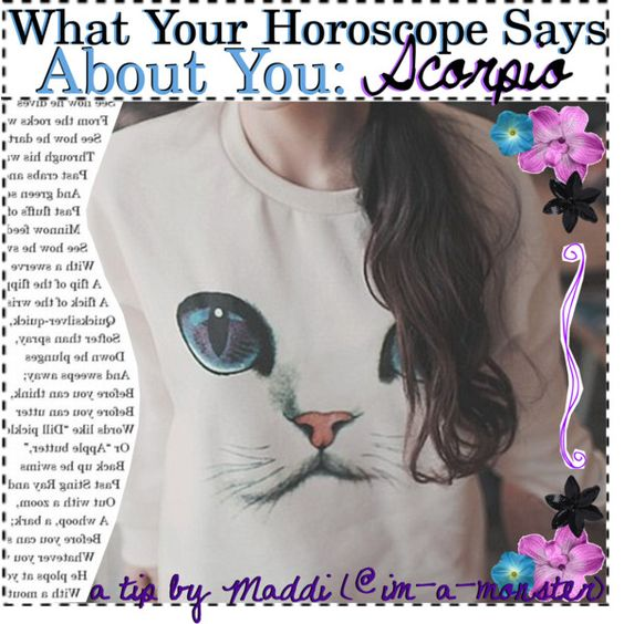 ♏️ What Your Horoscope Says About You: Scorpio ♏️ by those-punk-tips on Polyvore featuring art
