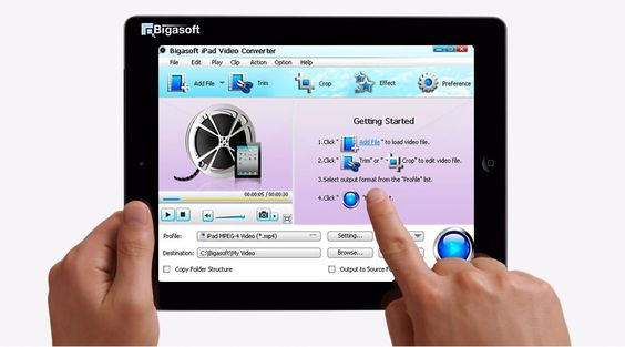 Bigasoft ipad video converter