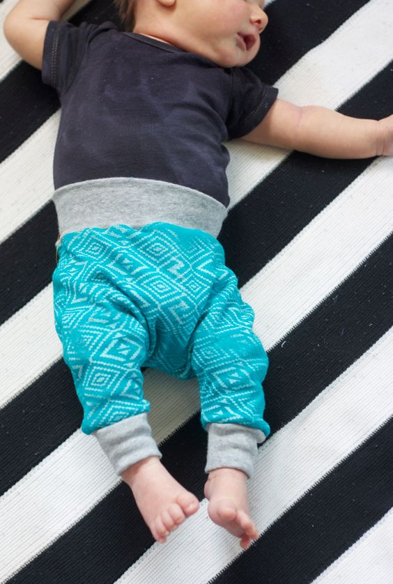 The Alison Show: Tiny Harem Pants Sewing Pattern