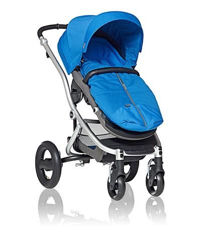 Cozy Toes in Sky Blue for the Affinity Stroller by Britax #brilliant #baby #style #BRITAXStyle