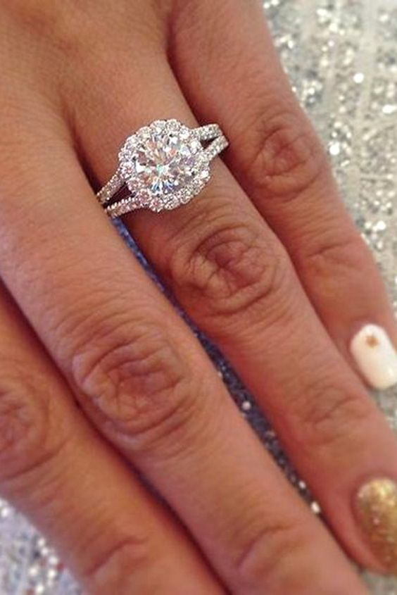Upgrade engagement ring before wedding ring