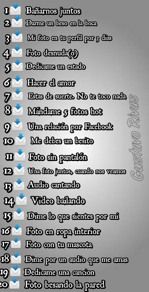 Resultado De Imagen Para Retos Para Facebook Chat Retos