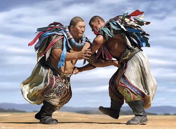 """Mongolian Wrestling, known as Bökh (Mongolian: Бөх or Үндэсний бөх). It is the folk wrestling style of Mongols in Mongolia, Inner Mongolia and other regions. Bökh means ""durability""..."""