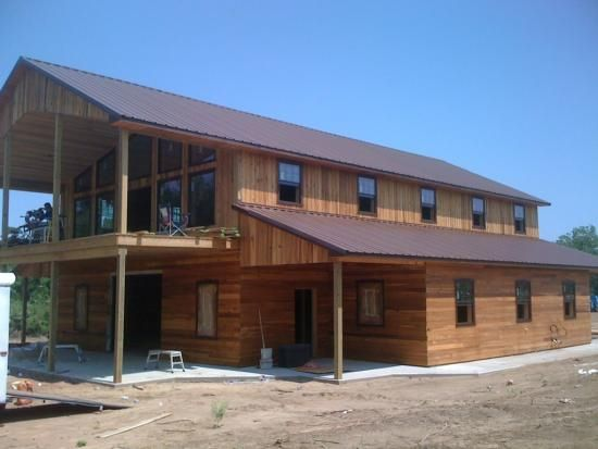 Horse Barns With Living Quarters Framing Up Two Story Shop With