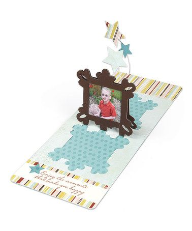 Take a look at this Ornate Frame Pop 'n' Cuts Magnetic Insert Die by Sizzix on #zulily today!