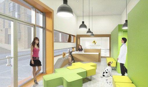 Rendering high heeled yoga clinic interior design ideas image ...