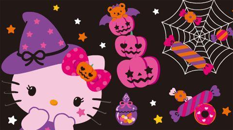 Hello Kitty Halloween Wallpaper Desktop 49978 Pixhd