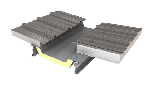 Insulated Gutter Kingspan Fabrications Kingspan Original Accessory Insulated Panels Metal Roof Gutters
