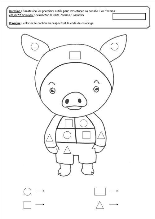 Les Trois Petits Cochons Gs : trois, petits, cochons, Épinglé, Petits, Cochons
