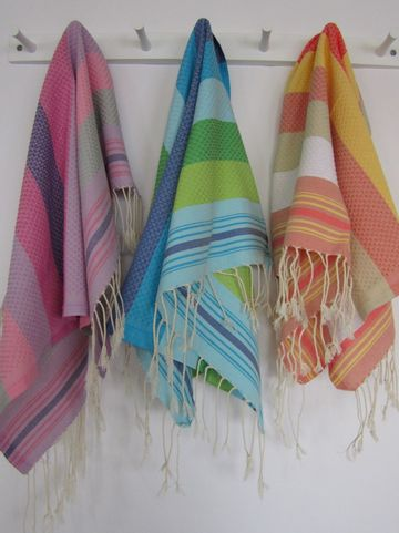 Set of 2 Fouta Guest Towel Multicolor by Scents and Feel