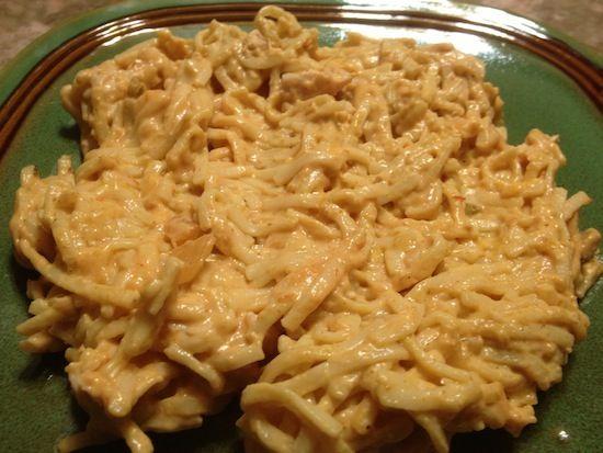 Chicken spaghetti recipes, Taco chicken and Chicken spaghetti on ...