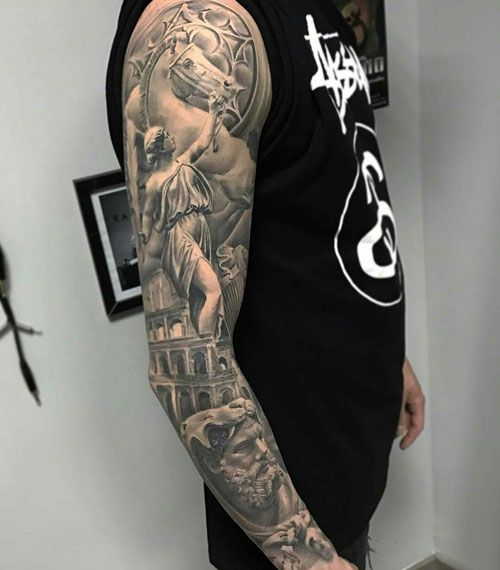 125 Best Sleeve Tattoos For Men Cool Ideas Designs 2020 Guide Tattoos For Guys Best Sleeve Tattoos Tattoo Sleeve Men