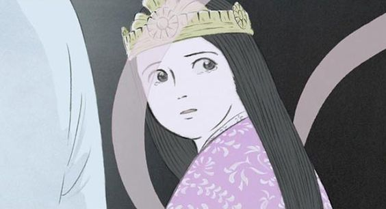 1:47:10 Princess Kaguya tells her parents that she is leaving them soon, returning to the moon. It distresses her when the bamboo cutter tries to make her ...